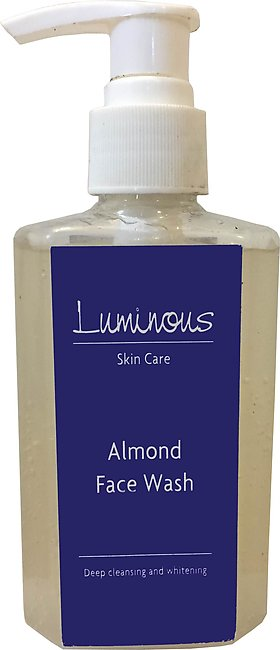 Luminous Skin Care Almond Face Wash
