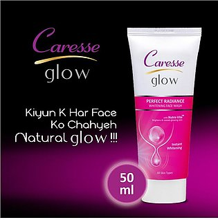 Caresse Glow Perfect Radiance Whitening Face Wash - 50ml