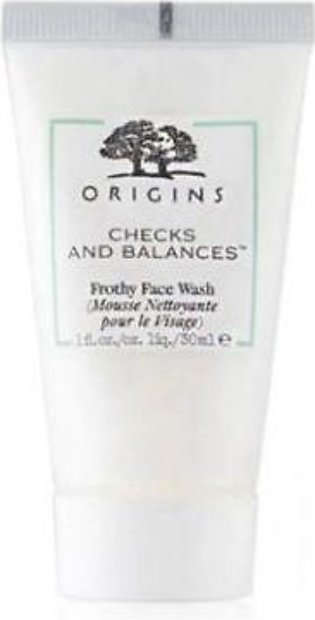 Origins Checks and Balances Frothy Face Wash - 30ml