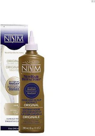 Nisim Hair and Scalp Original Extract With Anagain 8oz - 240ml