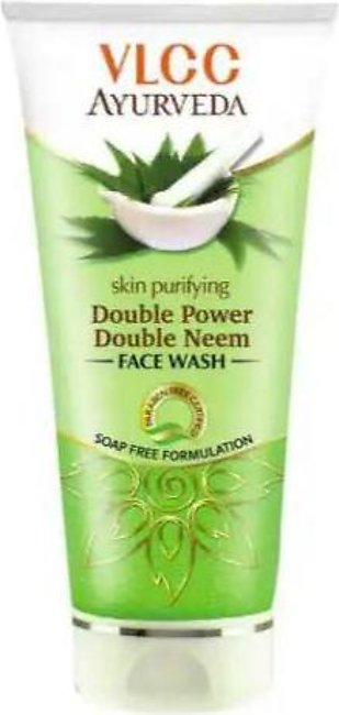 VLCC Ayurveda Skin Purifying Double Power Double Neem Face Wash - 150ml