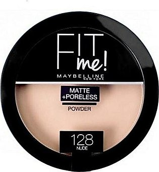 Maybelline Fit Me Powder - 128 Nude - 1512 - 8992304057007