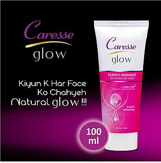 Caresse Glow Perfect Radiance Whitening Face Wash - 100ml