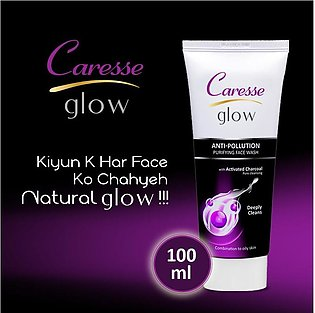 Caresse Glow Anti-Pollution Purifying Face Wash - 100ml