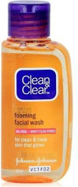 Clean & Clear Essential Face Wash - 50ml - 8850007650843