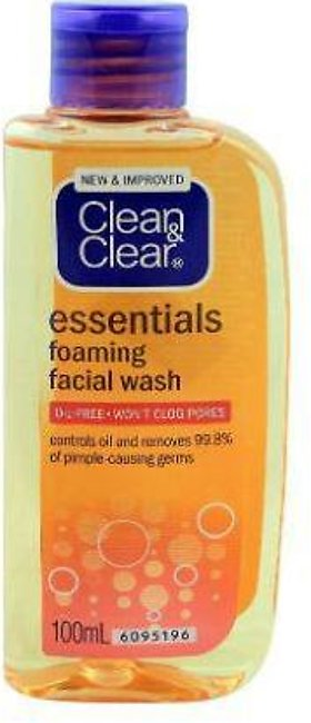 Clean & Clear Essential Face Wash - 100ml - 88531472
