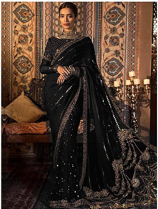 MARIA B Chiffon Saree Collection 2020