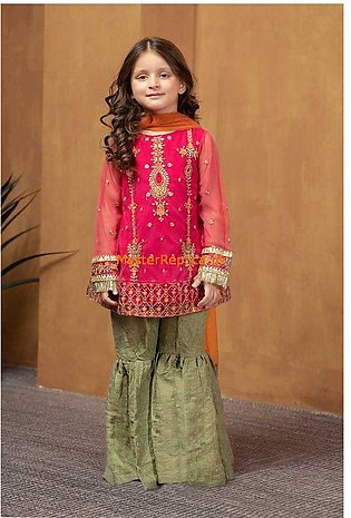 Amazing MARIA B Lawn Kids Collection Master Replica 2020