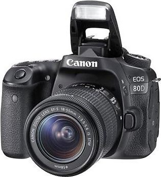Canon EOS 80D Kit (EF-S 18-55)