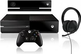 Xbox One + Remote + Kinect + Headphone