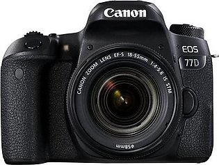 Canon EOS 77D 18-55mm DSLR Camera