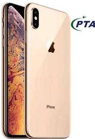 Apple iphone XS Max Single SIM Mobile 4GB RAM 256GB Storage Gold color Offici...
