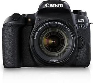 Canon Eos 77D 18-135mm DSLR Camera