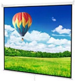 Vinyl Fabric 13.4x10 With Border Holes Projector Screen