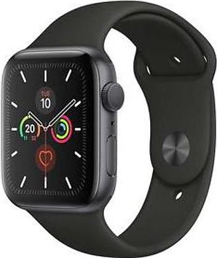 Apple Watch Series 5 MWVF2 44mm Space Gray Aluminum Case with Sport Band (GPS)