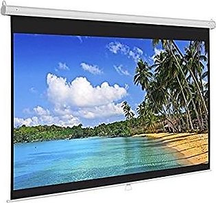 Wall Mounted 13.4x10 Fine Fabric Projector screen