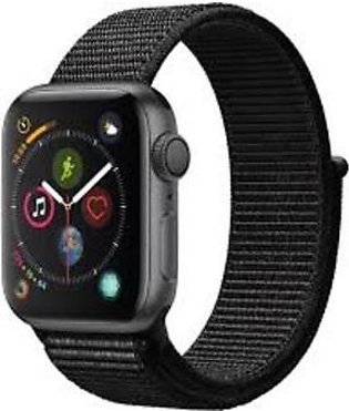 Apple Watch MU672 40mm Series 4 Space Gray Aluminum Case with Black Sport Loo...