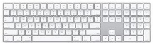 Apple Magic Numeric Keyboard Silver MQ052