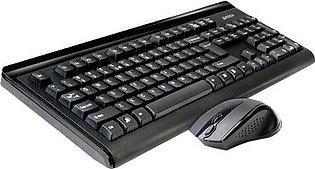 A4Tech Wireless Keyboard and Mouse 6100F