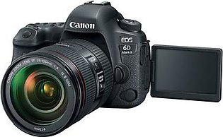 Canon EOS 6D Mark II DSLR Camera 24-105mm f/4 Lens
