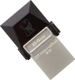 Kingston DT DUO3 64GB OTG USB 3.0 MicroDuo Data Traveler