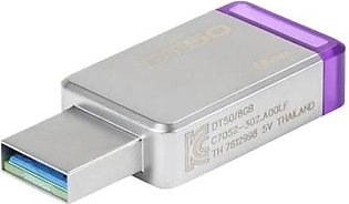 Kingston DT50 8GB USB v3.0 Data Traveler