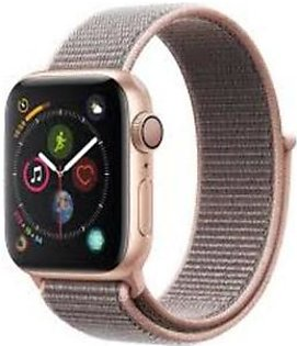 Apple Watch MU692 40mm Series 4 Gold Aluminum Case with Pink Sand Sport Loop With GPS
