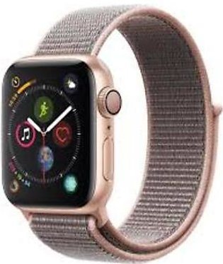 Apple Watch MU692 40mm Series 4 Gold Aluminum Case with Pink Sand Sport Loop ...