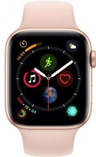 Apple Watch MTUJ2 40mm Series 4 Gold Aluminum Case with Pink Sand Sport Band ...