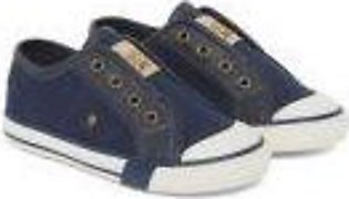 navy canvas shoes