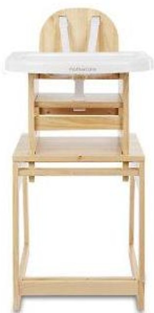 mothercare combo wooden highchair