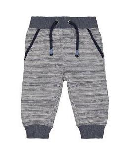 grey and blue joggers