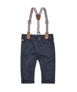 navy chinos with braces