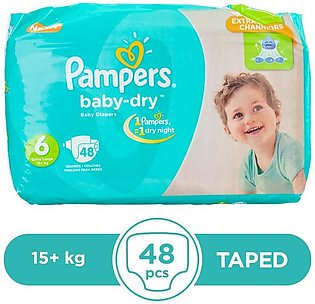 Pampers - Pampers Taped 15+kg - 48Pcs
