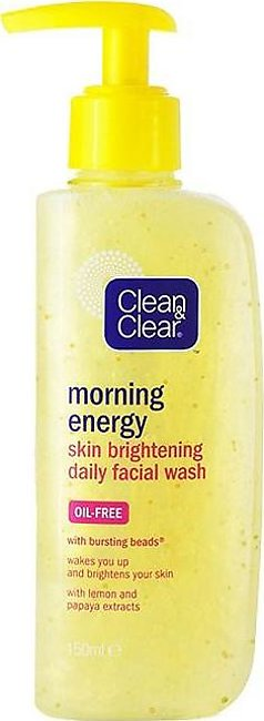 Clean & Clear - Clean and Clear Morning Energy Skin Brightening Daily Facial ...