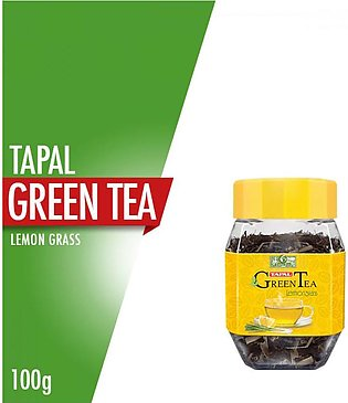 Tapal - Tapal Green Tea Lemon Grass Jar - 100gm
