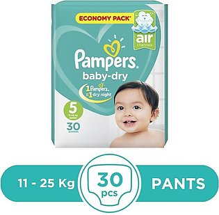 Pampers - Pampers Taped 11 To 25kg - 30Pcs
