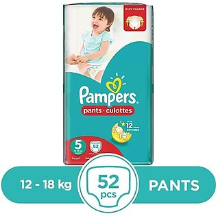 Pampers - Pampers Pants 12 To 18kg - 52Pcs