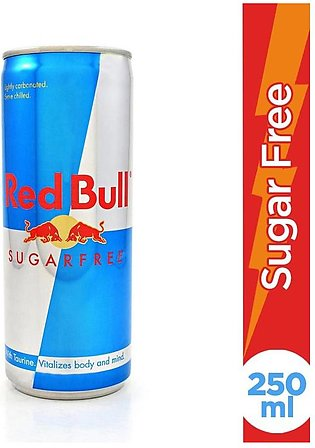 Red Bull - Red Bull Drink Sugar Free Can - 250ml