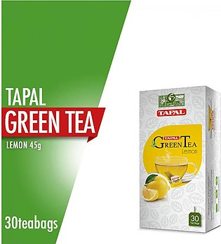 Tapal - Tapal Green Tea Lemon Tea Bags (Pack Of 30)