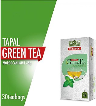 Tapal - Tapal Green Tea Moroccon Mint Tea Bags (Pack Of 30)