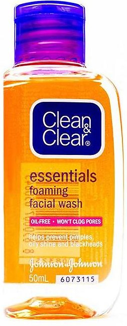 Clean & Clear - Clean and Clear Foaming Facial Wash - 50ml