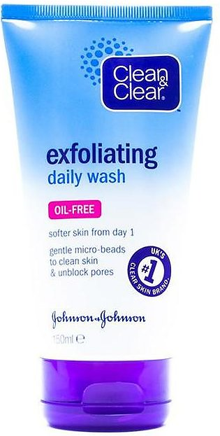 Clean & Clear - Clean and Clear Daily Exfoliating Face Wash - 150ml
