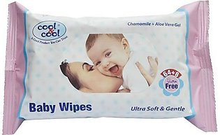 Cool & Cool - Cool and Cool Baby Wipes (Pack of 64 + 8)