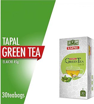 Tapal - Tapal Green Tea Bags Elaichi Tea Bags (Pack Of 30)