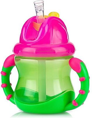 Nuby - Nuby 12+ Months FLIP-IT No Spill Cup With Straw - 240ml