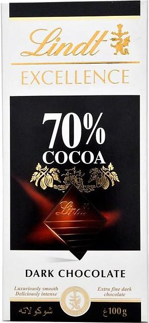 Lindt - Lindt Excellence Cocoa Chocolate - 100gm