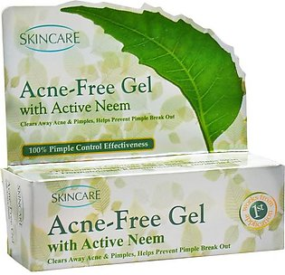 Skin Care - Skin Care Acne Free Gel - 24gm