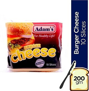 Adam's - Adam's Burger Cheese Sliced - 200gm