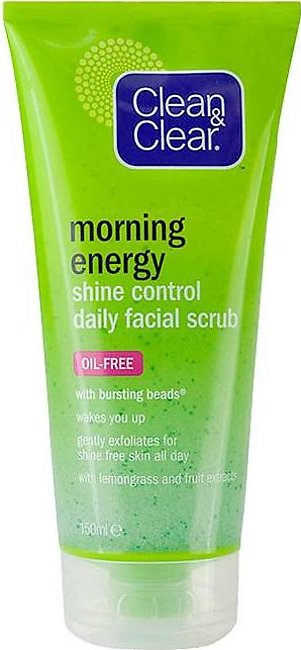 Clean & Clear - Clean and Clear Morning Energy Shine Control Daily Facial Scr...